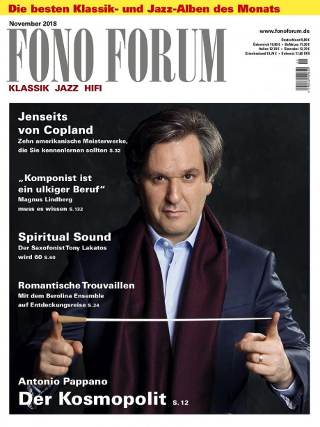 FonoForum im Abo - aktuelles Zeitschriftencover