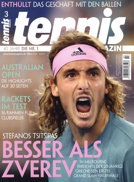 tennis magazin im Abo - aktuelles Zeitschriftencover