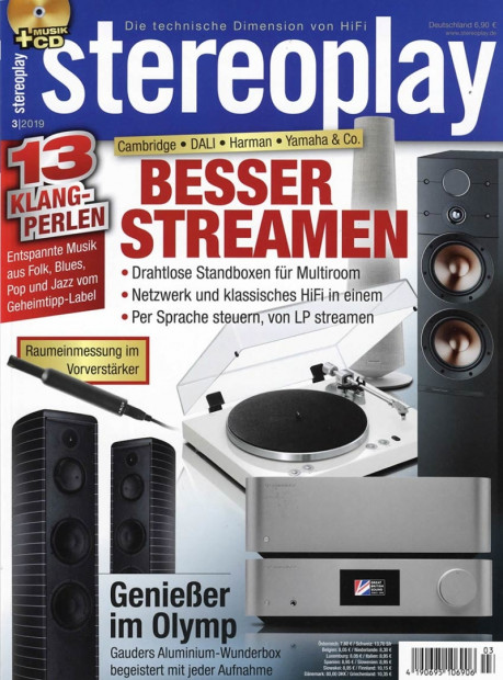 stereoplay im Abo - aktuelles Zeitschriftencover