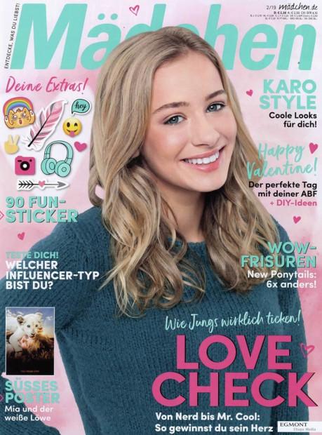 Mädchen im Abo - aktuelles Zeitschriftencover