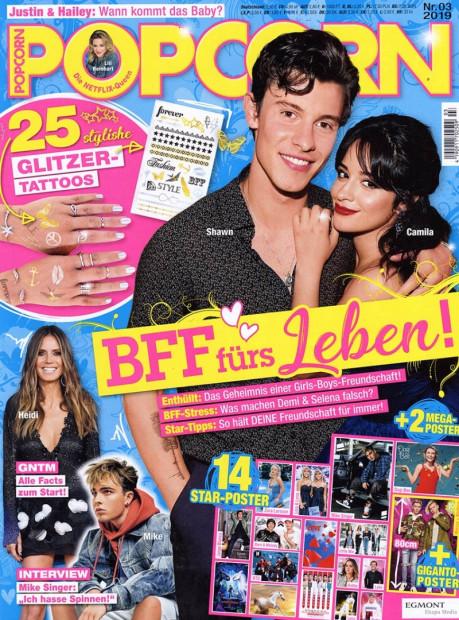 POPCORN im Abo - aktuelles Zeitschriftencover