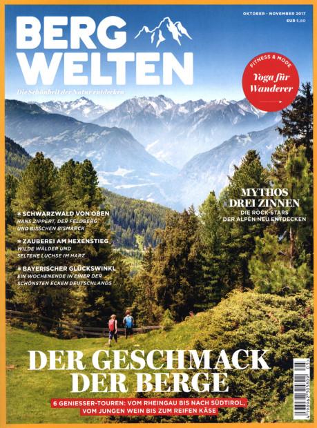BERGWELTEN im Abo - aktuelles Zeitschriftencover
