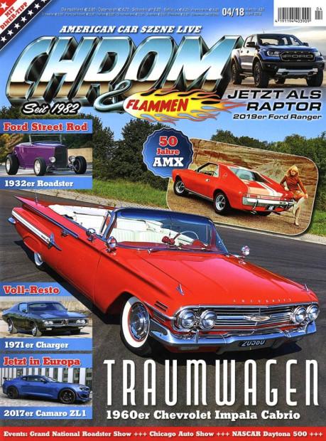 CHROM & FLAMMEN im Abo - aktuelles Zeitschriftencover