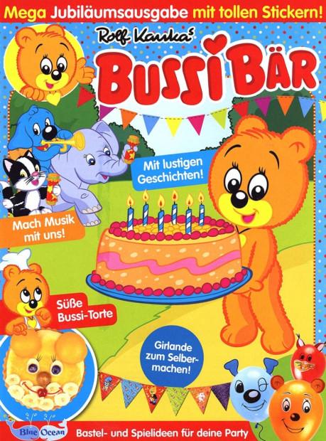 Bussi Bär im Abo - aktuelles Zeitschriftencover