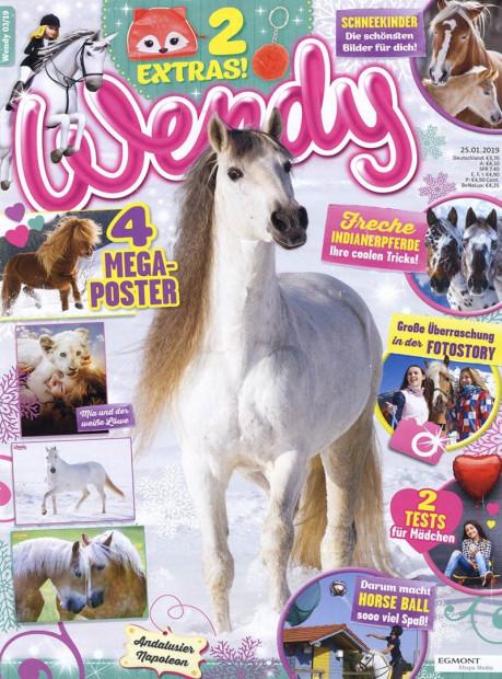 Wendy im Abo - aktuelles Zeitschriftencover