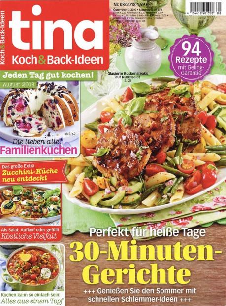 tina Koch & Back-Ideen im Abo - aktuelles Zeitschriftencover