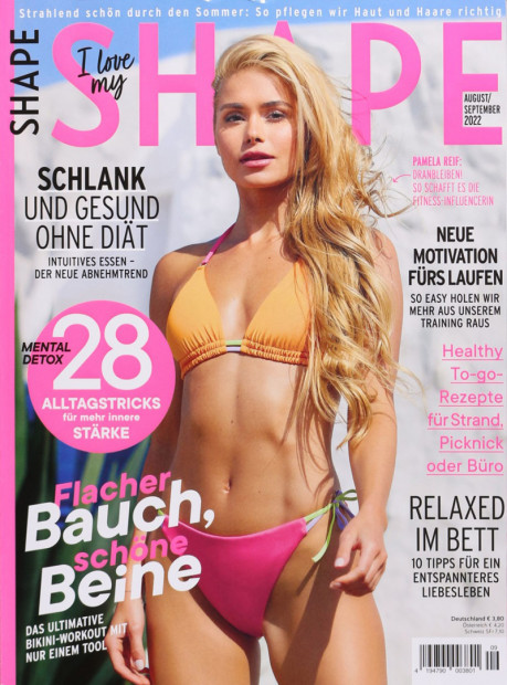 SHAPE im Abo - aktuelles Zeitschriftencover