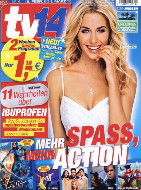 tv14 im Abo - aktuelles Zeitschriftencover