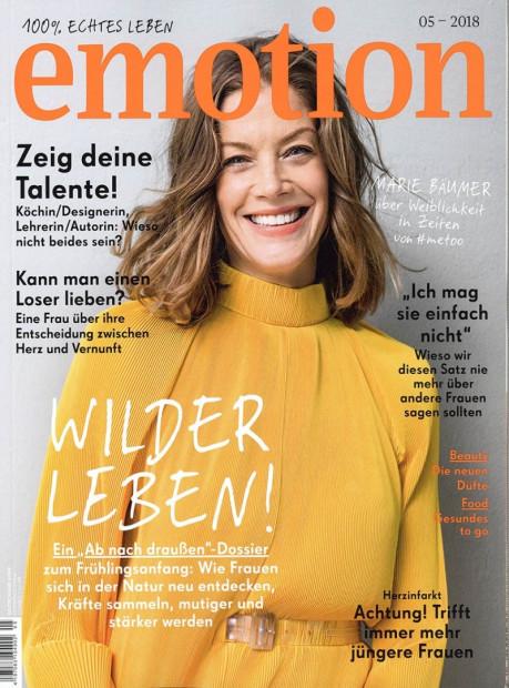 emotion im Abo - aktuelles Zeitschriftencover